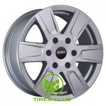 Disla Cyclone 7,5x17 5x139,7 ET43 DIA71,1 (silver)
