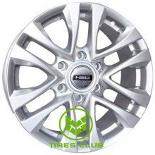 Tech Line TL732 7,5x17 6x139,7 ET25 DIA106,1 (silver)