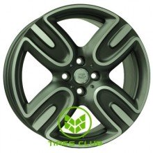 WSP Italy Mini (W1655) Troia 7x17 4x100 ET48 DIA56,1 (matt gun metal polished)